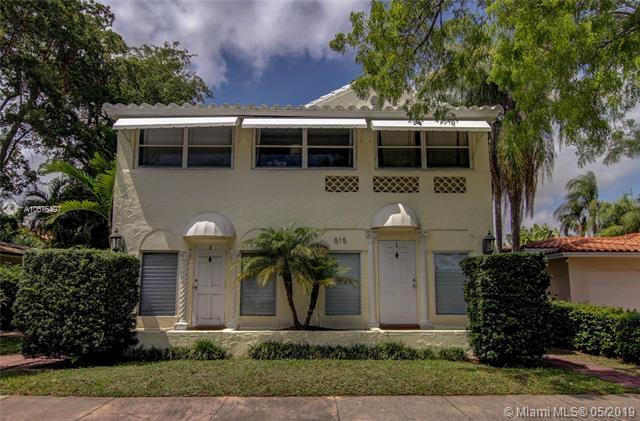 515 Catalonia Ave, Coral Gables, FL 33134 (MLS #A10676497) :: The Maria Murdock Group