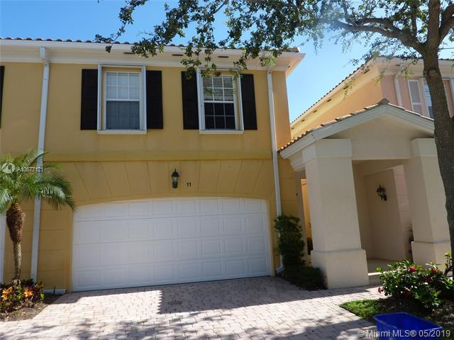 11 Live Oak Circle #11, Tequesta, FL 33469 (MLS #A10677121) :: EWM Realty International