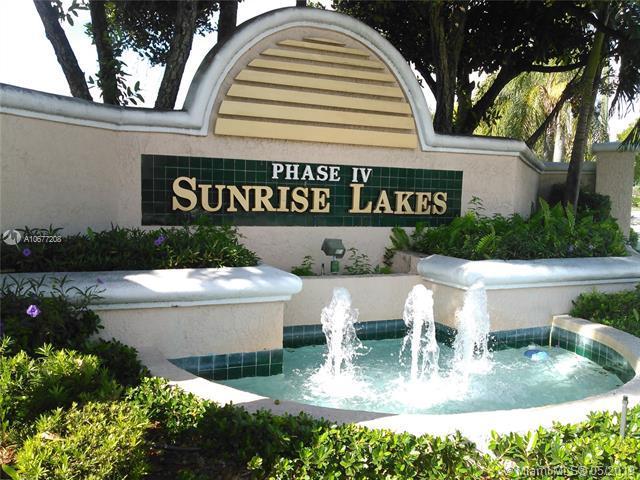 10207 Sunrise Lakes Blvd #109, Sunrise, FL 33322 (MLS #A10677208) :: Century 21 Keystone Realty