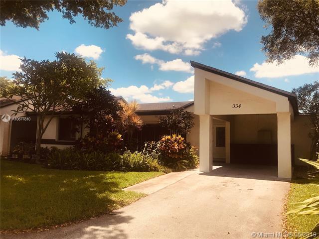 334 Fairway Cir #22, Weston, FL 33326 (MLS #A10677810) :: Green Realty Properties