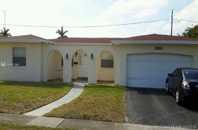 3352 NW 21st St, Lauderdale Lakes, FL 33311 (MLS #A10677955) :: RE/MAX Presidential Real Estate Group