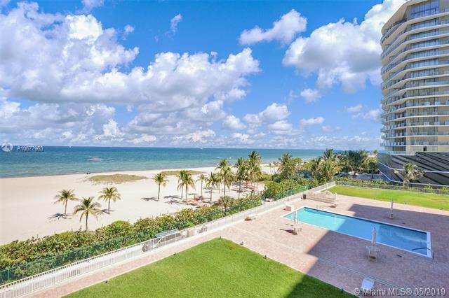 750 N Ocean Blvd #502, Pompano Beach, FL 33062 (MLS #A10677963) :: Grove Properties