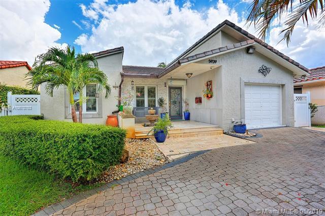 5939 SW 34th St, Miami, FL 33155 (MLS #A10678753) :: Green Realty Properties