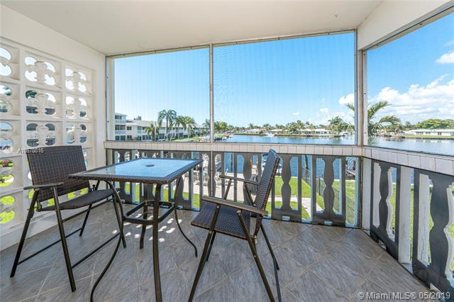 700 Pine Dr #201, Pompano Beach, FL 33060 (MLS #A10678816) :: The Brickell Scoop