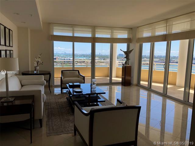 848 Brickell Key Dr #1901, Miami, FL 33131 (MLS #A10679102) :: Green Realty Properties