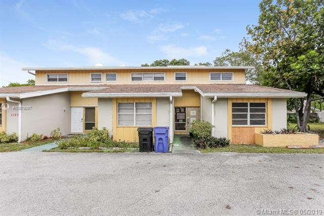 1121 W Prospect Rd #1, Fort Lauderdale, FL 33309 (MLS #A10679367) :: RE/MAX Presidential Real Estate Group