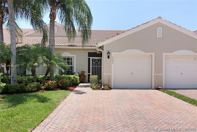 2095 Stonington Ter, West Palm Beach, FL 33411 (MLS #A10682400) :: The Brickell Scoop
