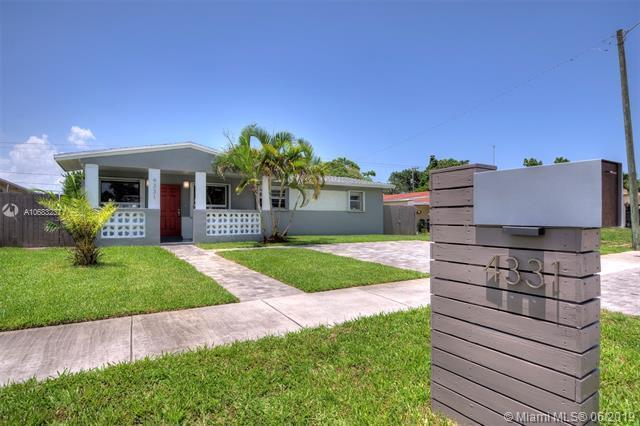 4331 SW 28th St, West Park, FL 33023 (MLS #A10683237) :: Berkshire Hathaway HomeServices EWM Realty