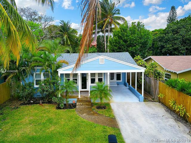 1415 NW 4th Ave, Fort Lauderdale, FL 33311 (MLS #A10683901) :: Green Realty Properties