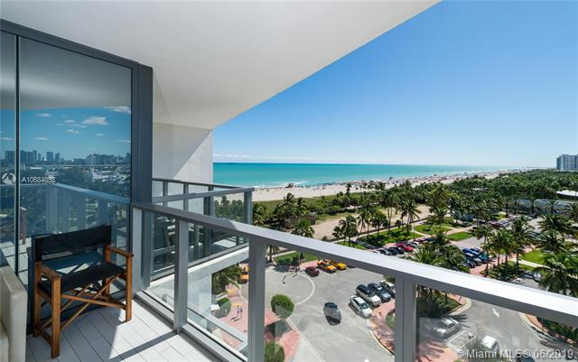 2201 Collins Ave #814, Miami Beach, FL 33139 (MLS #A10684853) :: Ray De Leon with One Sotheby's International Realty