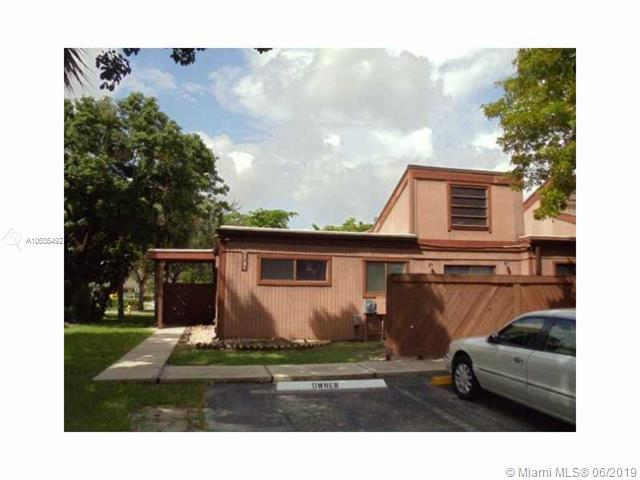 1741 NW 74th Ave #11, Plantation, FL 33313 (MLS #A10685492) :: The Brickell Scoop