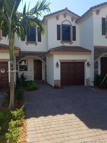 5488 NW 27th Ct #5488, Margate, FL 33063 (MLS #A10686870) :: EWM Realty International