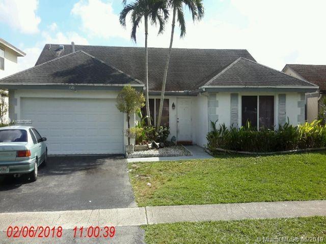 3720 NW 120th Way, Sunrise, FL 33323 (MLS #A10687560) :: The Brickell Scoop