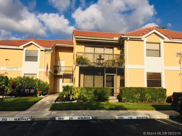 5861 Riverside Dr 102A2, Coral Springs, FL 33067 (MLS #A10687795) :: Grove Properties