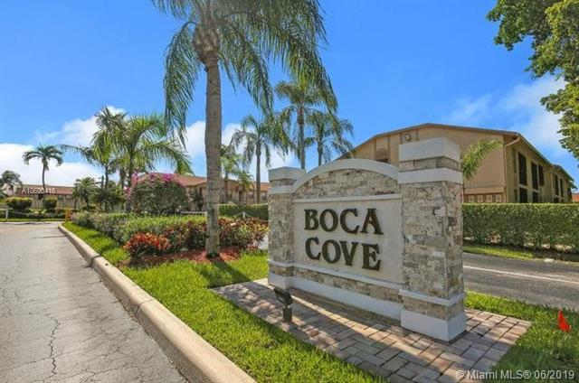 9480 Boca Cove Circle #411, Boca Raton, FL 33428 (MLS #A10690416) :: Ray De Leon with One Sotheby's International Realty