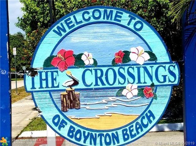 34 Crossings Cir F, Boynton Beach, FL 33435 (MLS #A10692584) :: Grove Properties