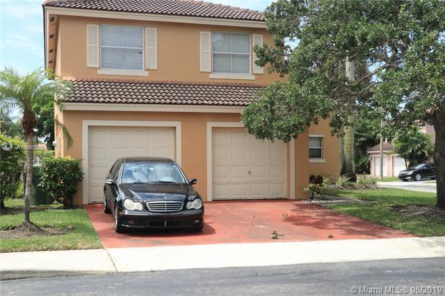 16596 NW 8th St, Pembroke Pines, FL 33028 (MLS #A10693063) :: Green Realty Properties
