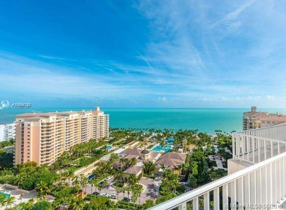 789 Crandon Blvd #1606, Key Biscayne, FL 33149 (MLS #A10694792) :: The Riley Smith Group