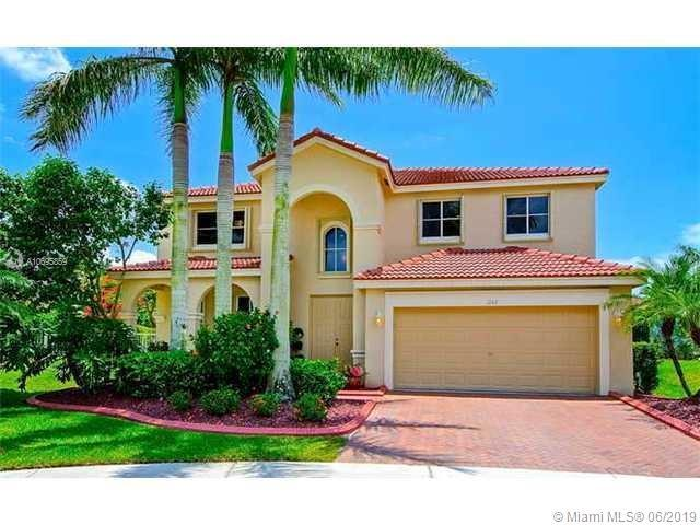 1152 NW Chenille Cir, Weston, FL 33327 (MLS #A10695859) :: Castelli Real Estate Services