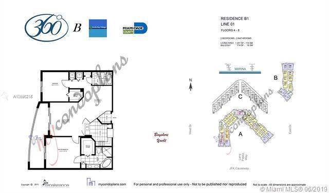 7910 Harbor Island Dr #501, North Bay Village, FL 33141 (MLS #A10696215) :: Berkshire Hathaway HomeServices EWM Realty