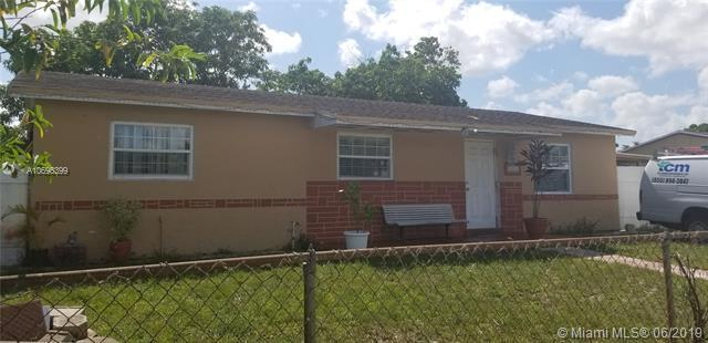 19710 NW 44th Ct, Miami Gardens, FL 33055 (MLS #A10696399) :: The Teri Arbogast Team at Keller Williams Partners SW