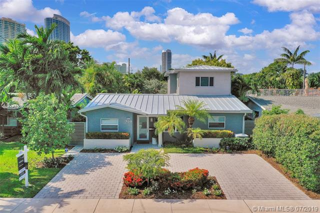 709 SE 6th Ct, Fort Lauderdale, FL 33301 (MLS #A10698045) :: Green Realty Properties