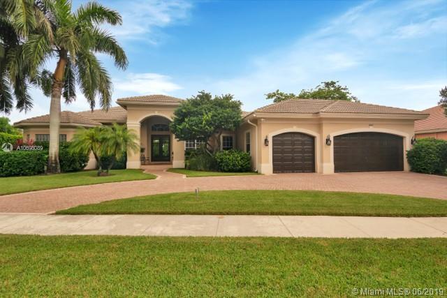 14885 SW 39th St, Davie, FL 33331 (MLS #A10698089) :: Grove Properties