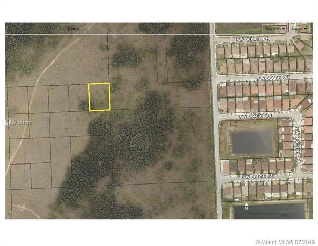 SW 44 St 170 Ave, Miami, FL 33185 (MLS #A10700003) :: Grove Properties