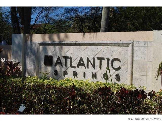 11205 W Atlantic Blvd #203, Coral Springs, FL 33071 (MLS #A10700479) :: Grove Properties