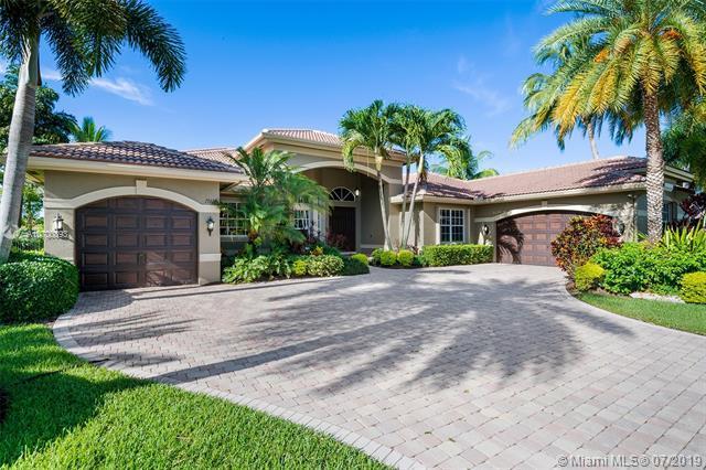 15178 SW 38th St, Davie, FL 33331 (MLS #A10700893) :: Green Realty Properties