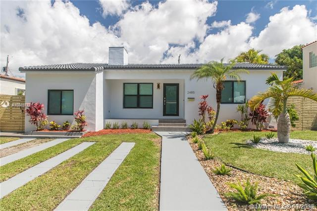 2485 SW 19th Ter, Miami, FL 33145 (MLS #A10702732) :: Grove Properties