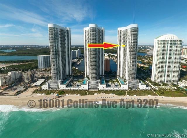 16001 Collins Ave #3207, Sunny Isles Beach, FL 33160 (MLS #A10702767) :: Ray De Leon with One Sotheby's International Realty