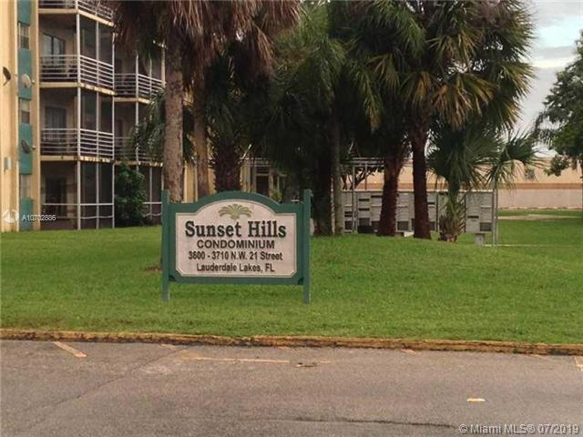 3710 NW 21st St #203, Lauderdale Lakes, FL 33311 (MLS #A10702886) :: Grove Properties