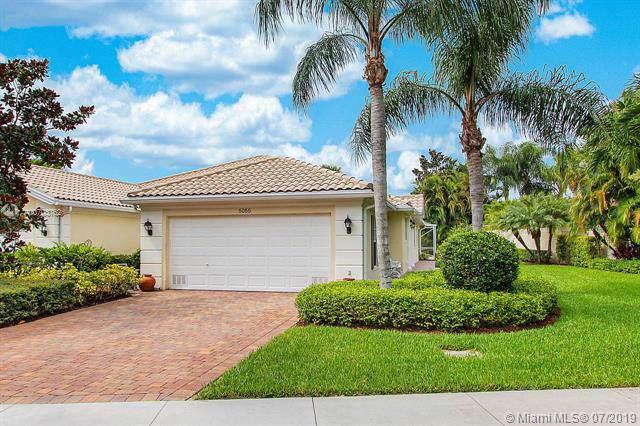 5055 Magnolia Bay Cir, Palm Beach Gardens, FL 33418 (MLS #A10703762) :: The Paiz Group