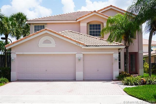11913 NW 54th Pl, Coral Springs, FL 33076 (MLS #A10706178) :: Grove Properties