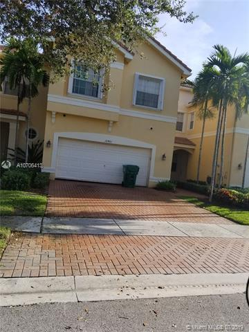 12461 SW 42nd, Miramar, FL 33027 (MLS #A10706413) :: Berkshire Hathaway HomeServices EWM Realty