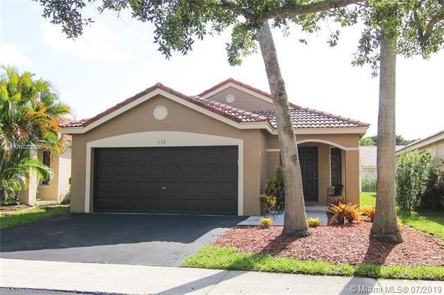 478 Talavera Rd, Weston, FL 33326 (MLS #A10706636) :: Berkshire Hathaway HomeServices EWM Realty