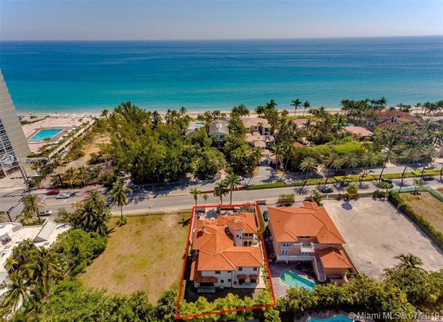 674 Ocean Blvd, Golden Beach, FL 33160 (MLS #A10706907) :: Berkshire Hathaway HomeServices EWM Realty