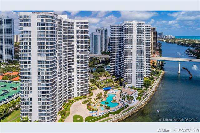 19101 Mystic Pointe Dr #1408, Aventura, FL 33180 (MLS #A10708405) :: The Jack Coden Group