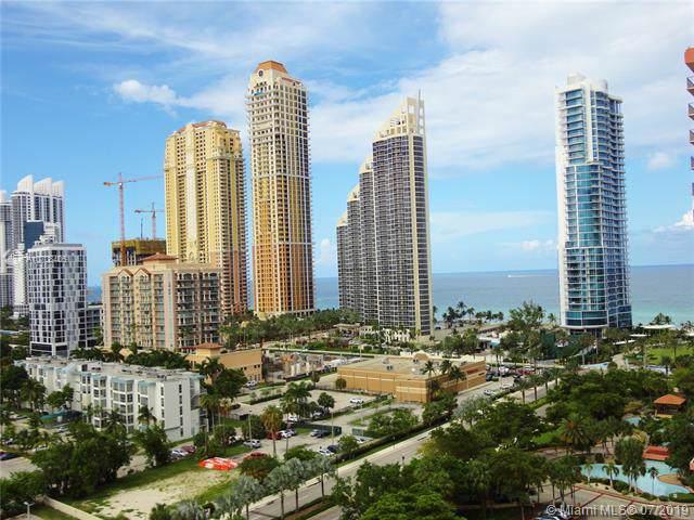 230 174th St #1705, Sunny Isles Beach, FL 33160 (MLS #A10708406) :: Grove Properties