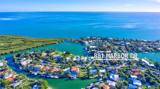 881 Harbor Dr, Key Biscayne, FL 33149 (MLS #A10709626) :: GK Realty Group LLC