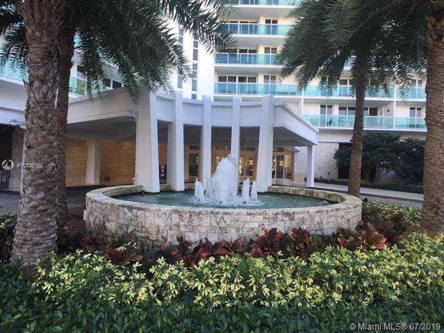 100 Bayview Dr #819, Sunny Isles Beach, FL 33160 (MLS #A10709759) :: Lucido Global