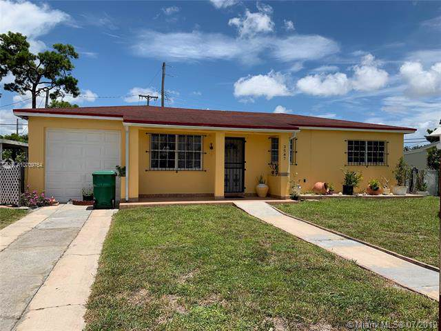 3587 NW 87th St, Miami, FL 33147 (MLS #A10709764) :: Grove Properties