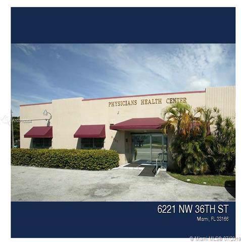 6201-6201 NW 36th Street, Virginia Gardens, FL 33166 (MLS #A10710564) :: The Brickell Scoop