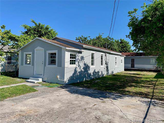 3191 NW 67th St, Miami, FL 33147 (MLS #A10711609) :: The Teri Arbogast Team at Keller Williams Partners SW