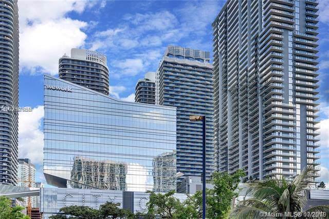 68 SE 6th St #1707, Miami, FL 33131 (MLS #A10712323) :: Grove Properties