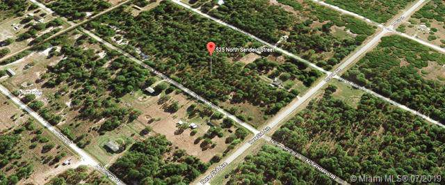 525 N Sendero St, Clewiston, FL 33440 (MLS #A10712857) :: Grove Properties