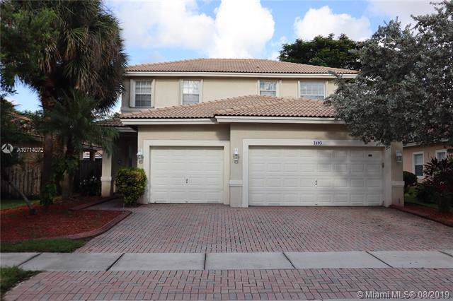 2193 NW 74th Ave, Pembroke Pines, FL 33024 (MLS #A10714072) :: The Teri Arbogast Team at Keller Williams Partners SW