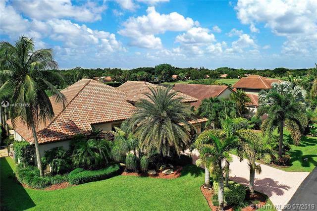 5950 Vista Linda Ln, Boca Raton, FL 33433 (MLS #A10714156) :: Ray De Leon with One Sotheby's International Realty