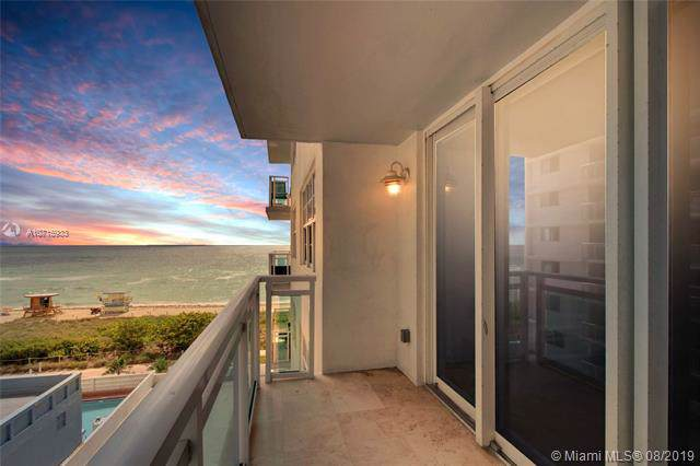 6917 Collins Ave #706, Miami Beach, FL 33141 (MLS #A10715933) :: Ray De Leon with One Sotheby's International Realty